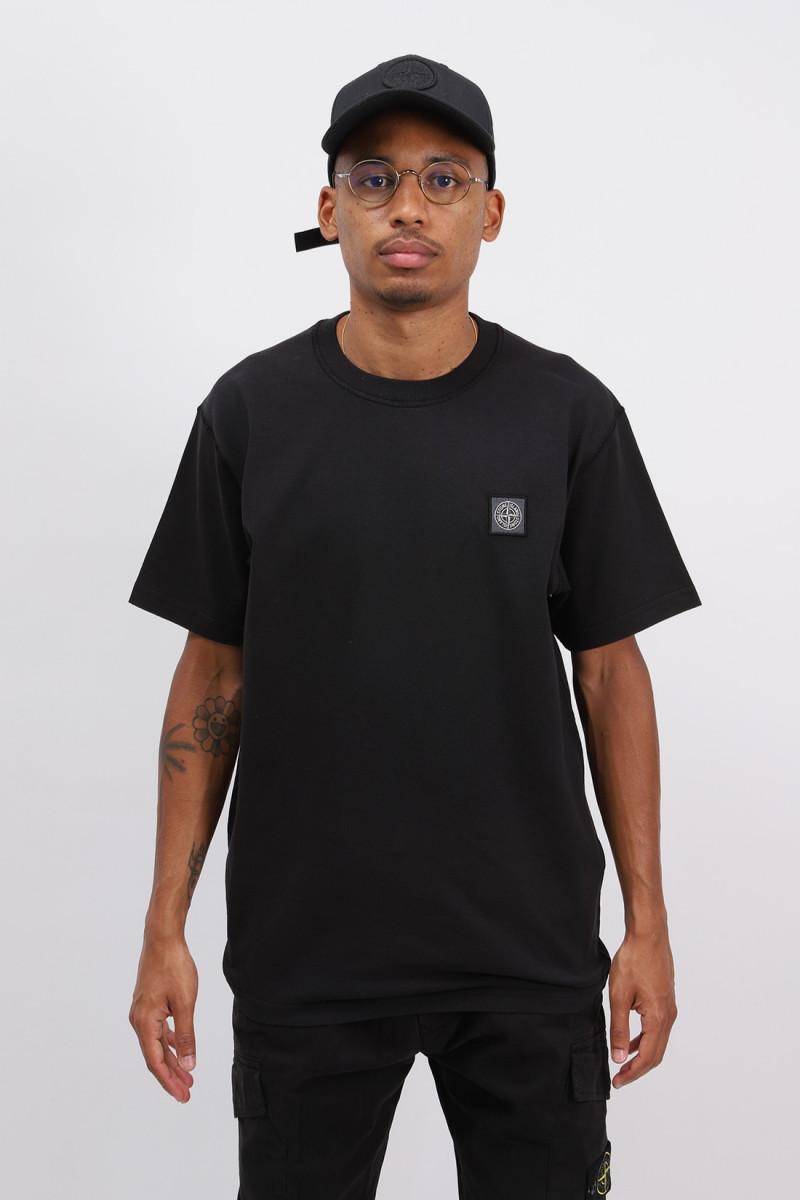 23742 fissato t shirt v0029 Nero
