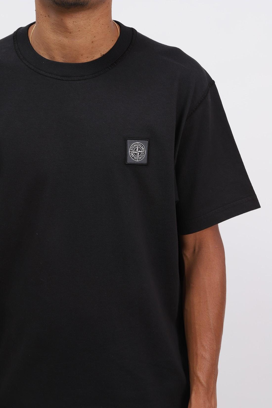 STONE ISLAND / 23742 fissato t shirt v0029 Nero