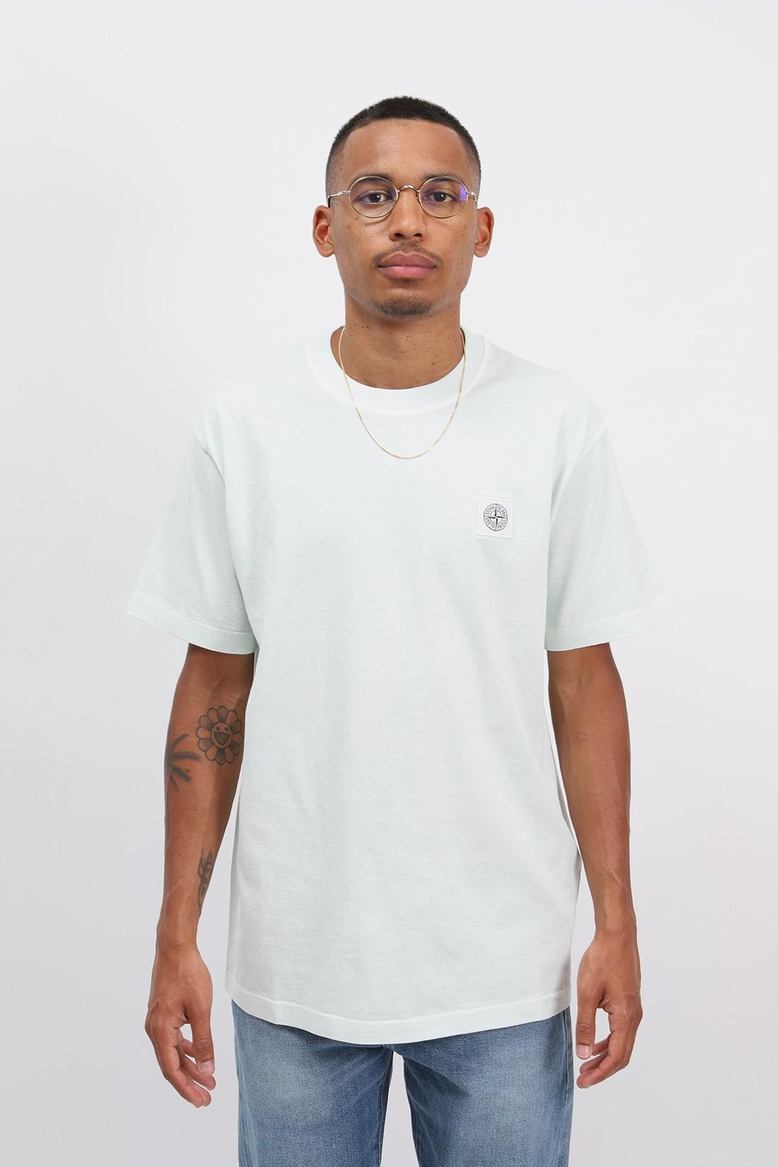 STONE ISLAND / 23742 fissato t shirt v0152 Verde chiaro