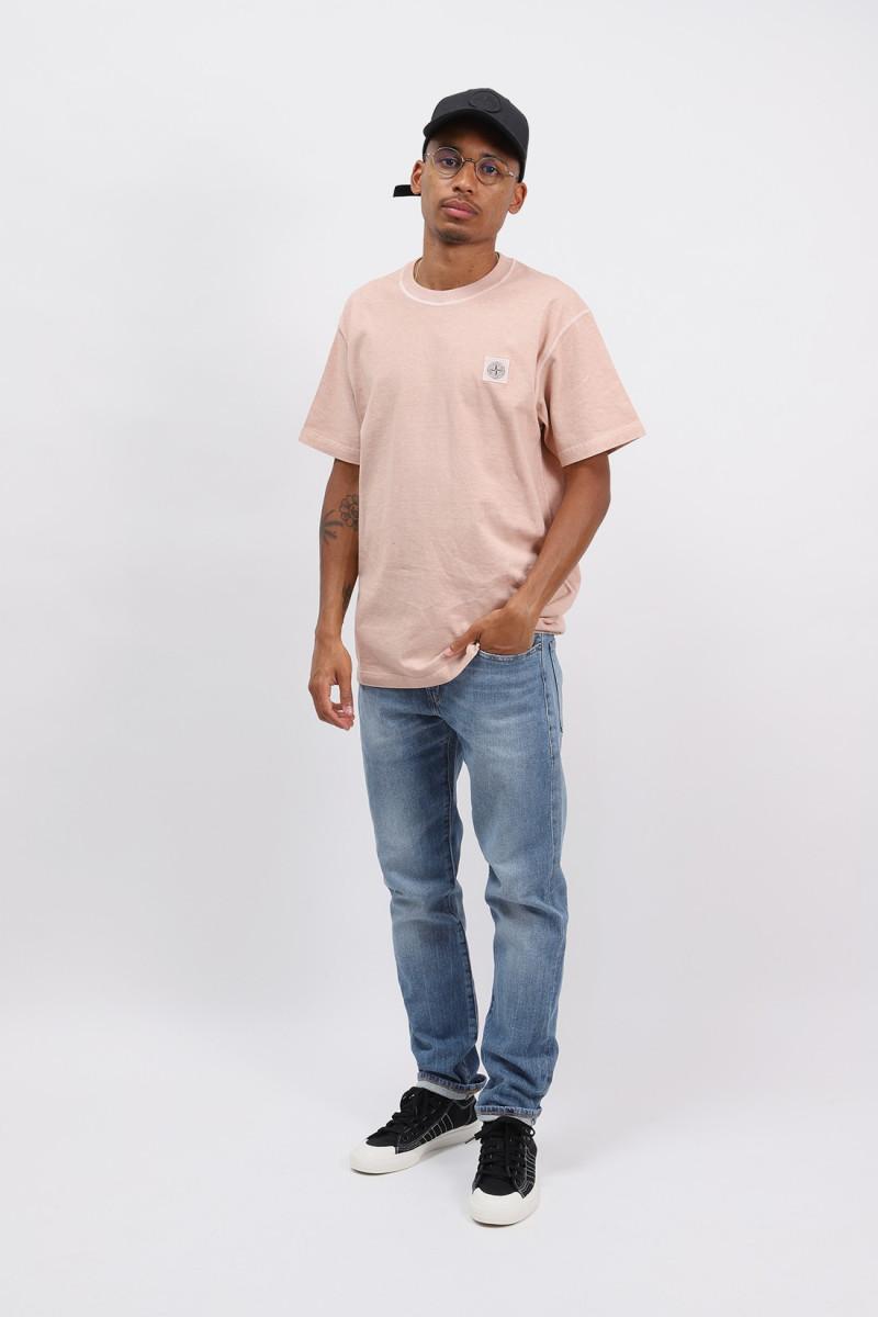 23742 fissato t shirt v0182 Rosa antico