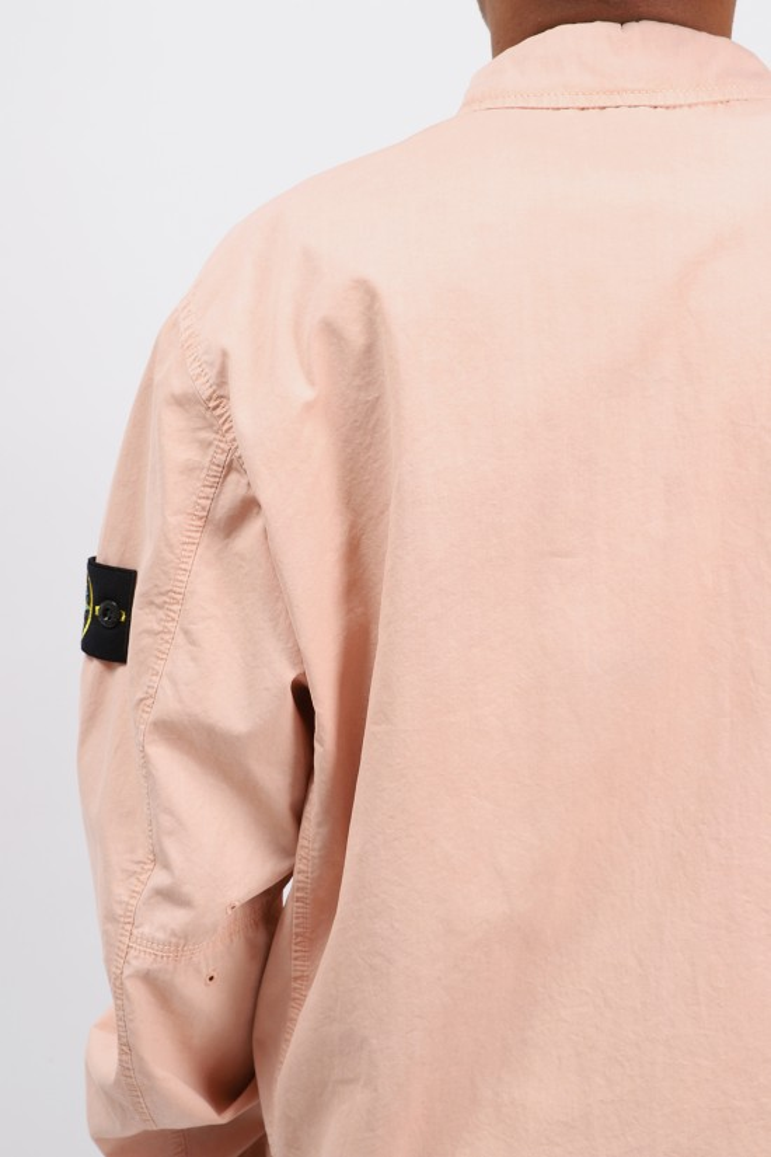 STONE ISLAND / 113wn overshirt v0182 Rosa antico
