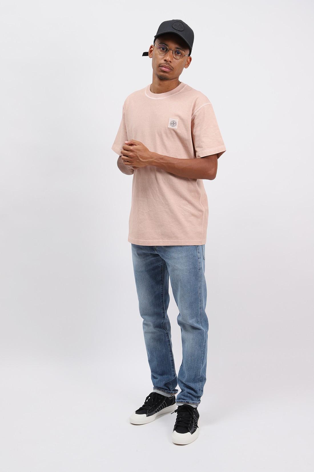 STONE ISLAND / 23742 fissato t shirt v0182 Rosa antico