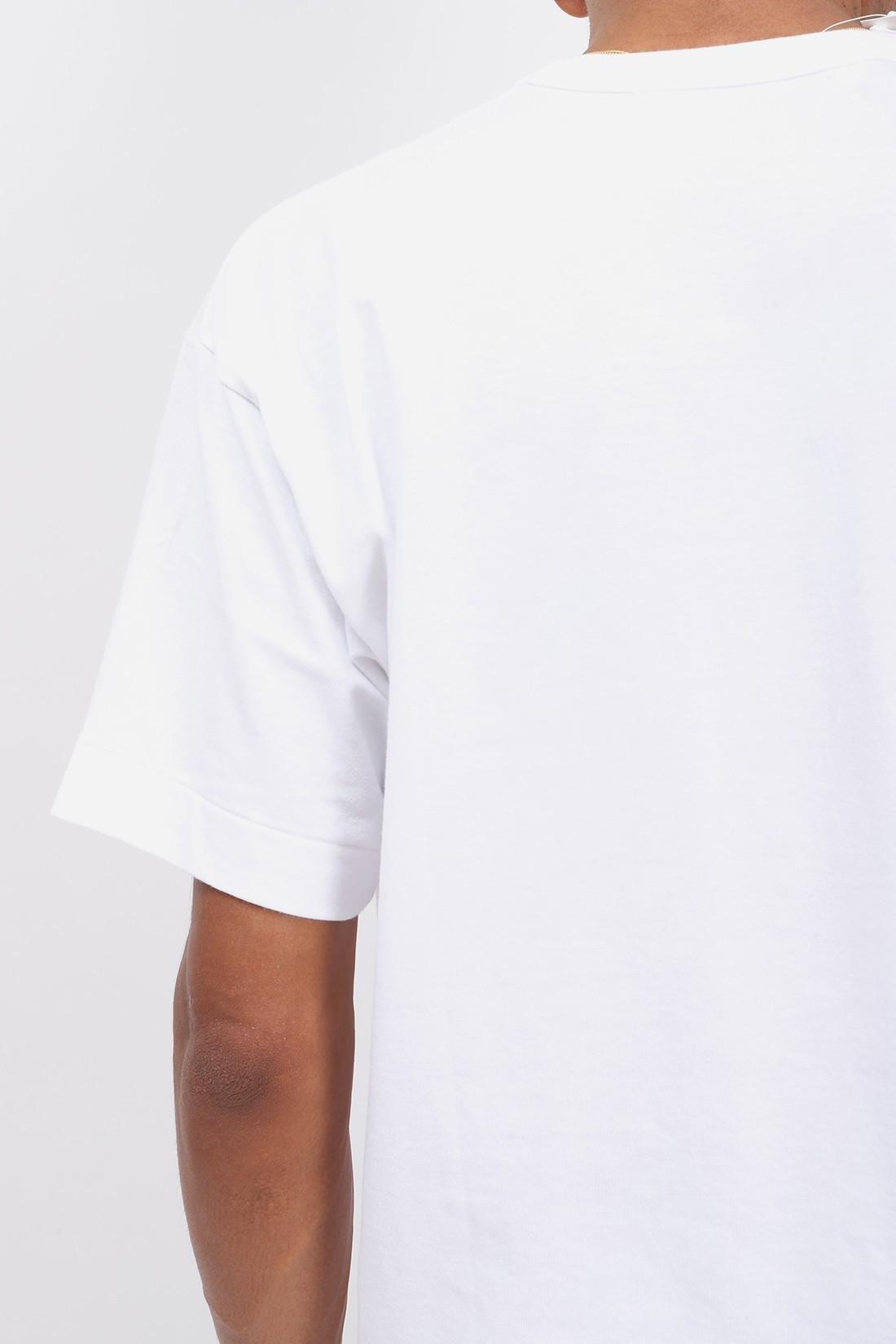COMME DES GARÇONS PLAY / Red play t-shirt blue eyes White