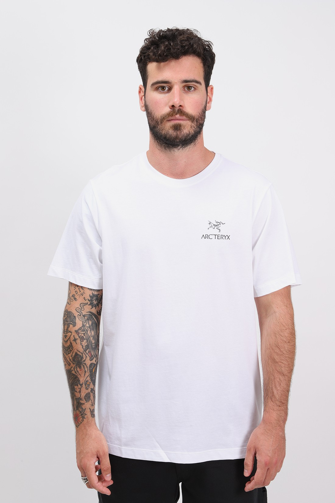 ARC'TERYX / Emblem tshirt ss mens White