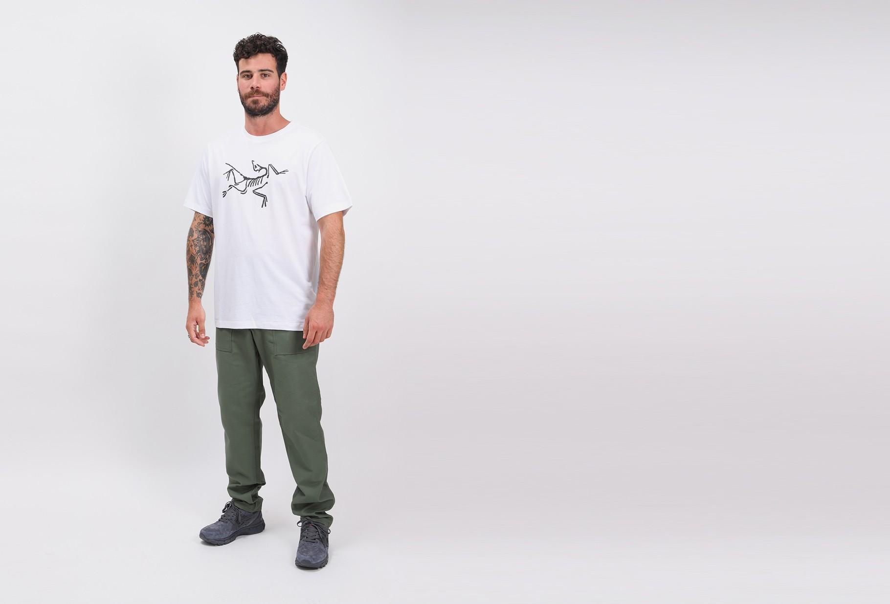 ARC'TERYX / Archaeopteryx tshirt ss mens White