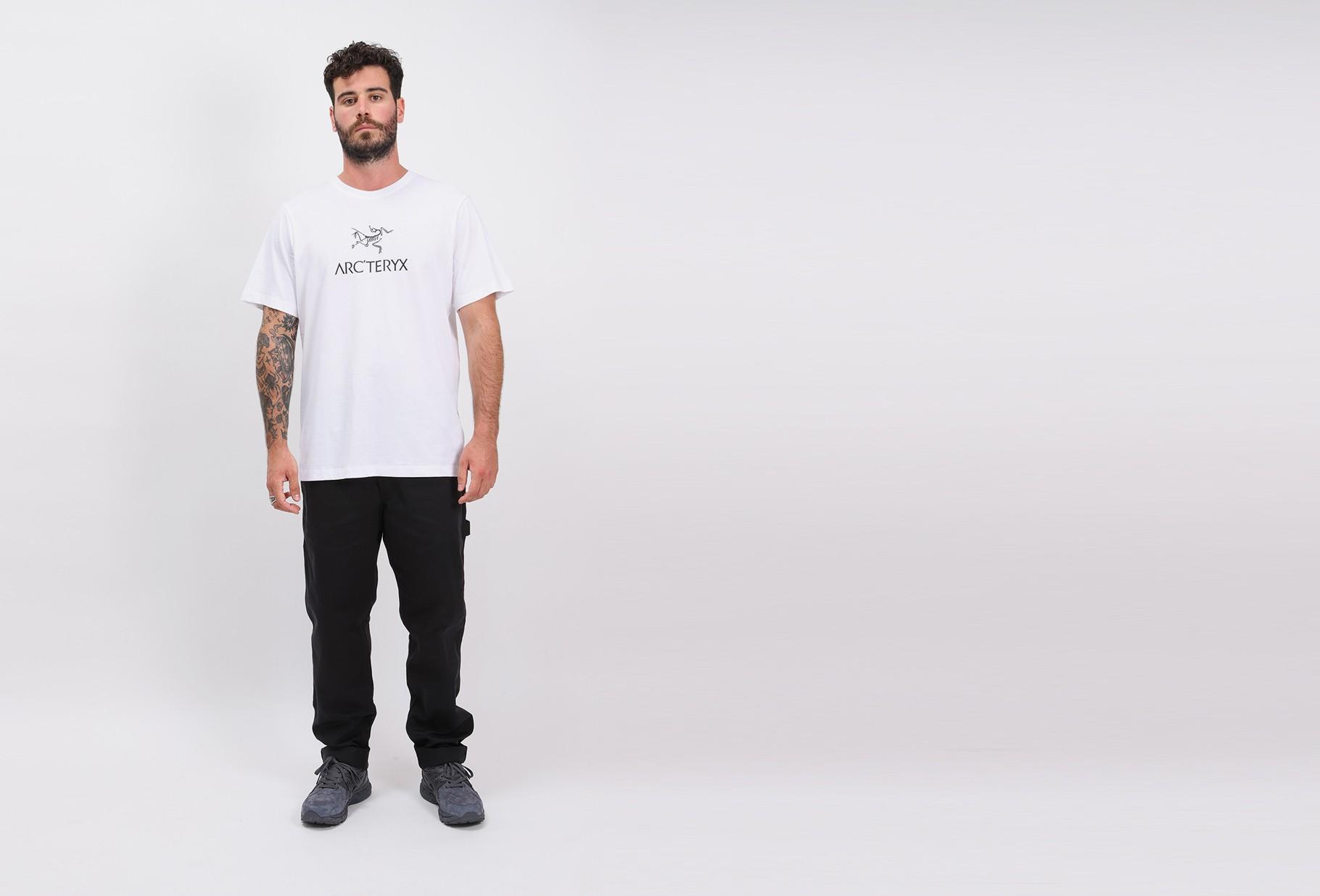 ARC'TERYX / Arc'word tshirt ss mens White