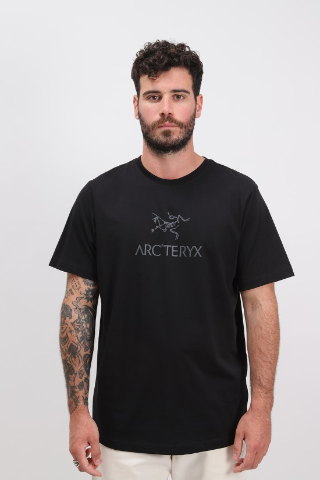 ARC'TERYX / Arc'word tshirt ss mens Black