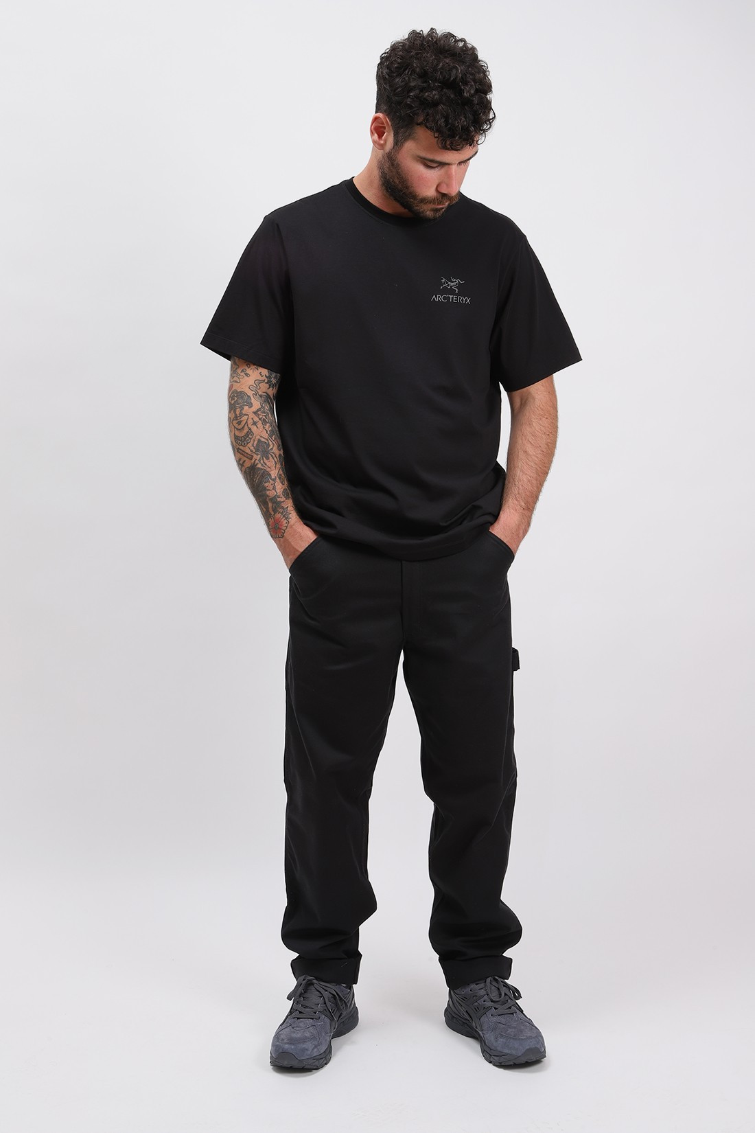 ARC'TERYX / Emblem tshirt ss mens Black