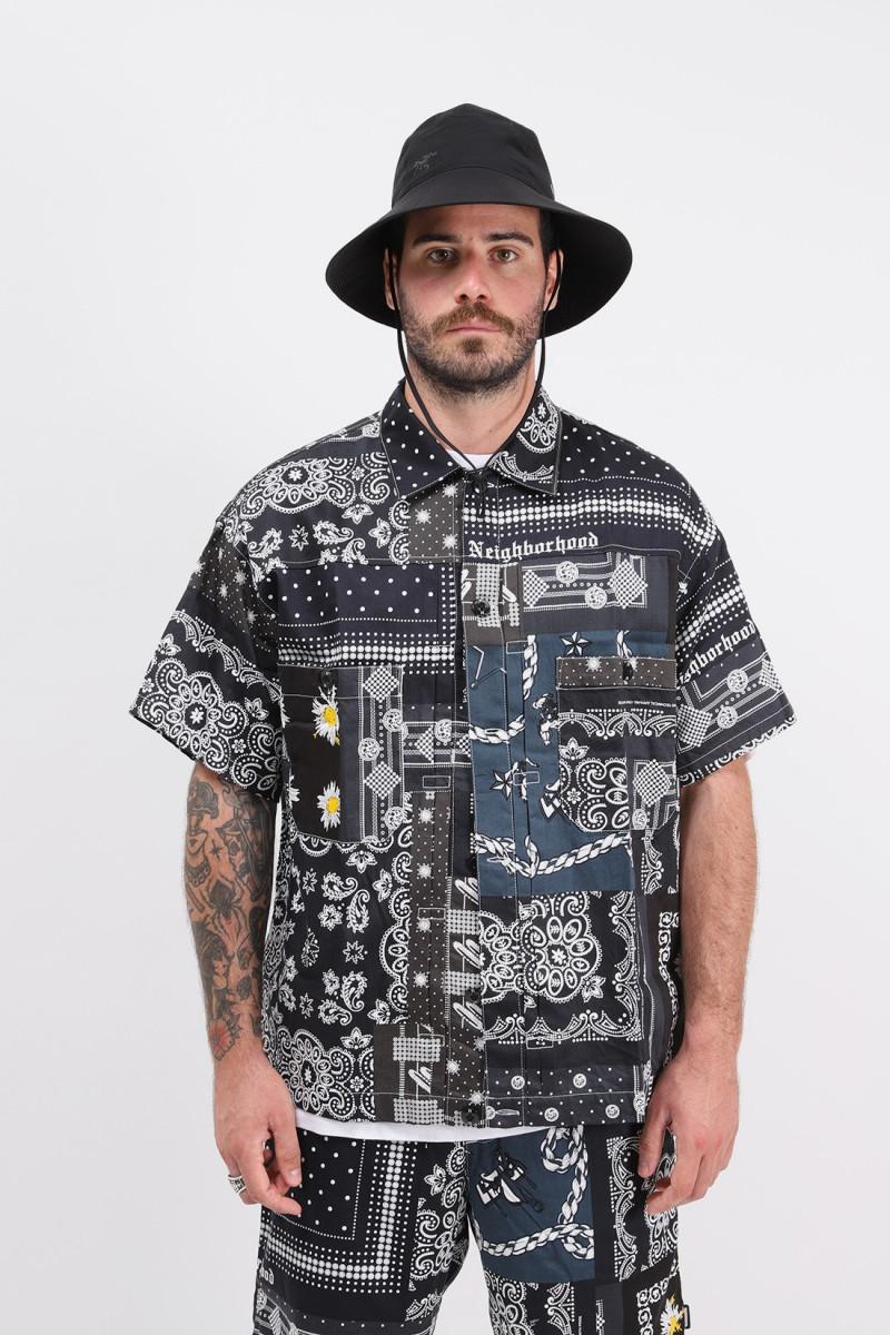 Bandana type-b / c-shirt . ss Black