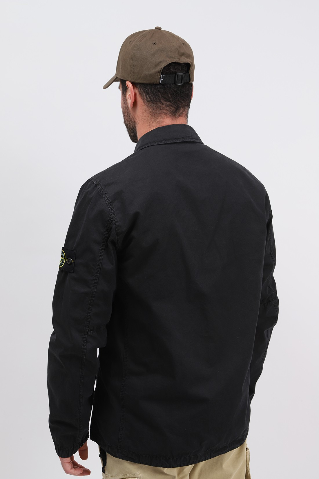 STONE ISLAND / 113wn overshirt v0129 Nero
