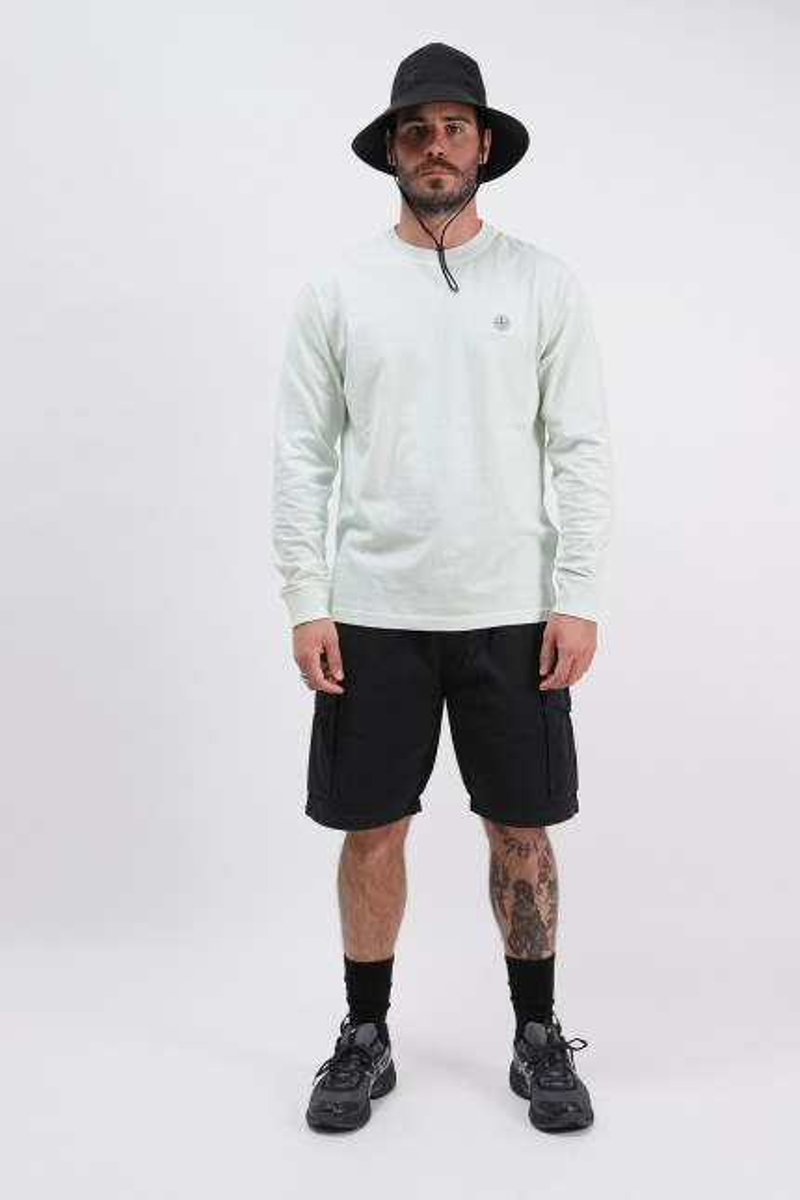 21842 ls fissato t shirt v0152 Verde chiaro