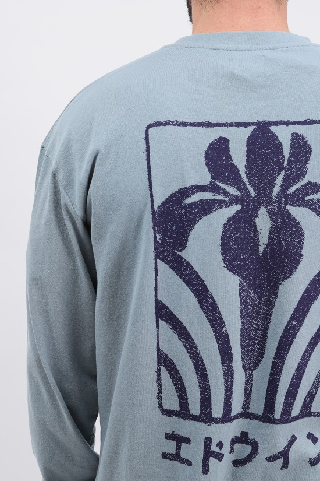 EDWIN / Hanani ls tee shirt Tarmac