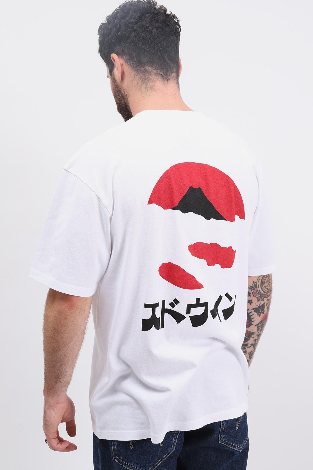 EDWIN / Kamifuji tee shirt White