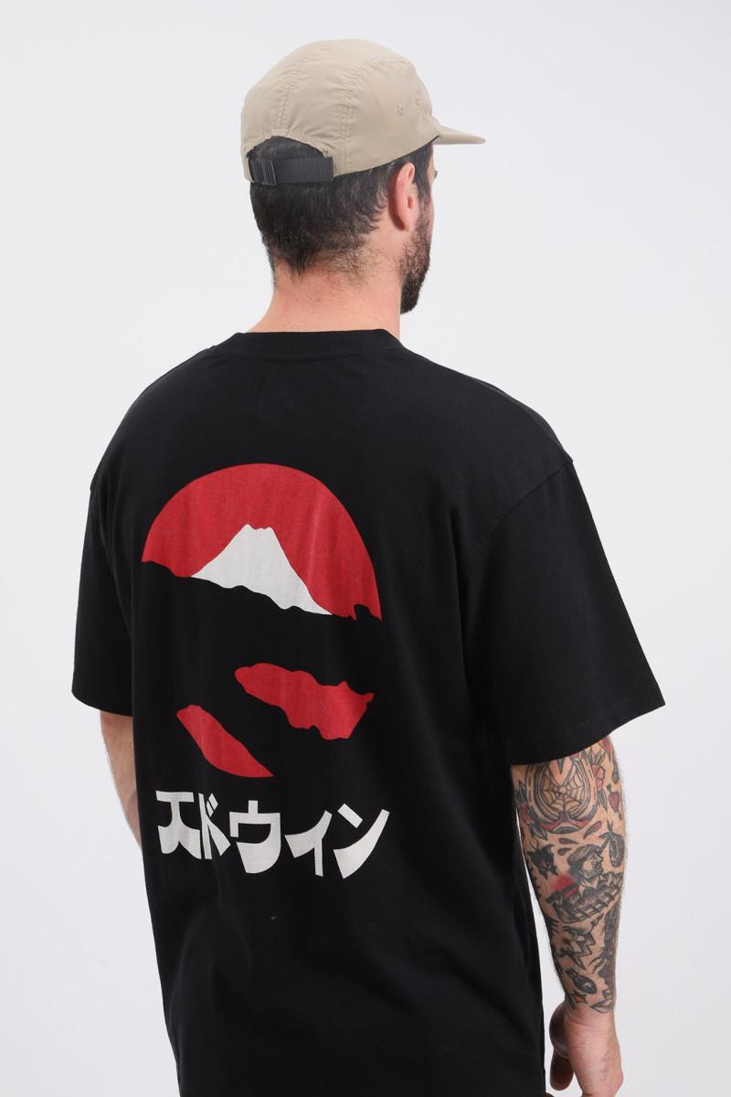 Kamifuji tee shirt Black