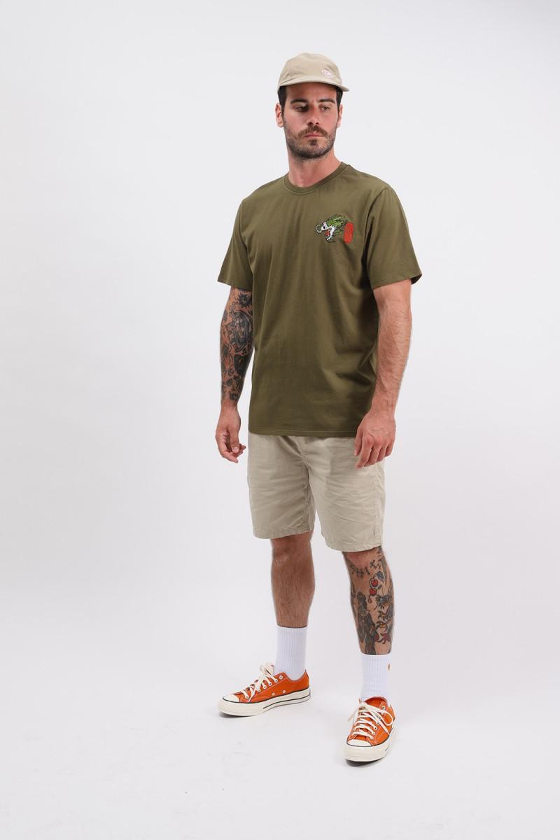 Dragon tee shirt Uniform green