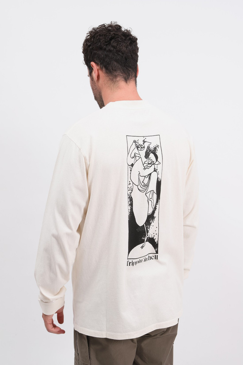 Tripping in hell ls tee shirt Whisper