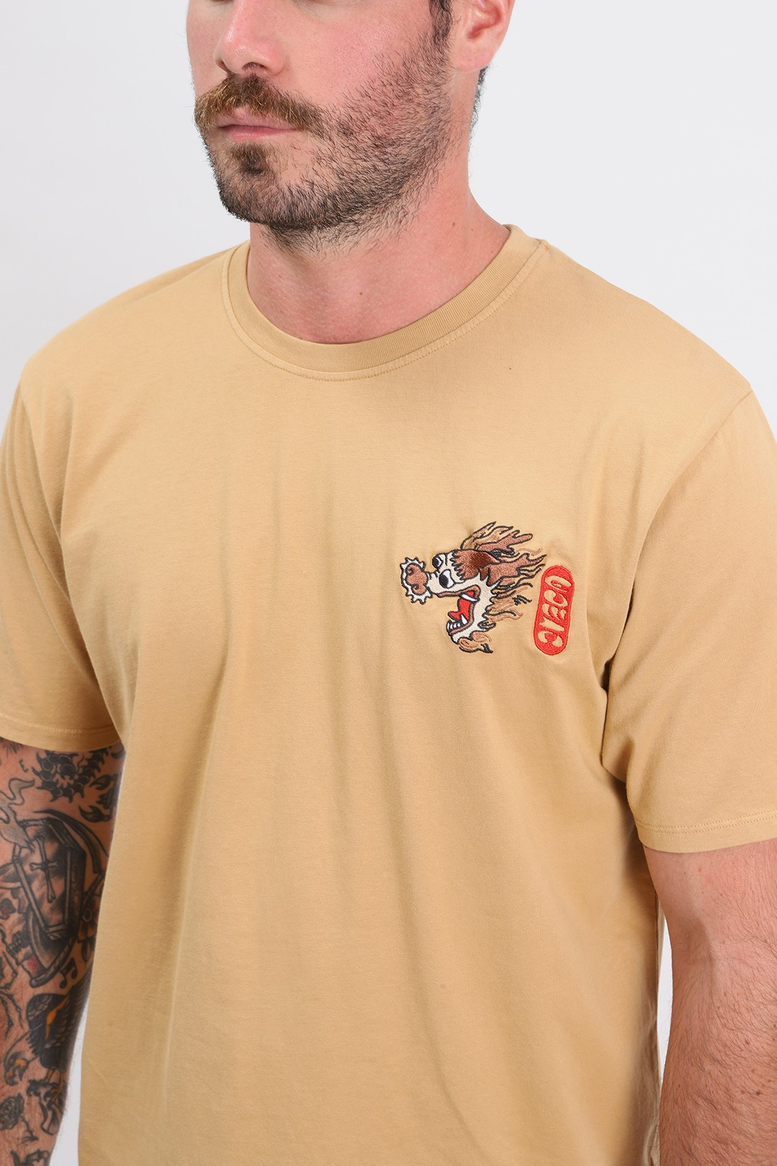 EDWIN / Dragon tee shirt Rabbits