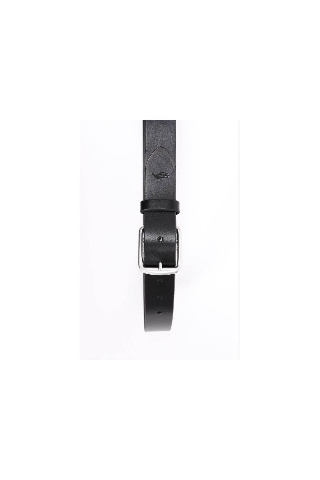POLO RALPH LAUREN / 3/8 saddlr dress leather Black