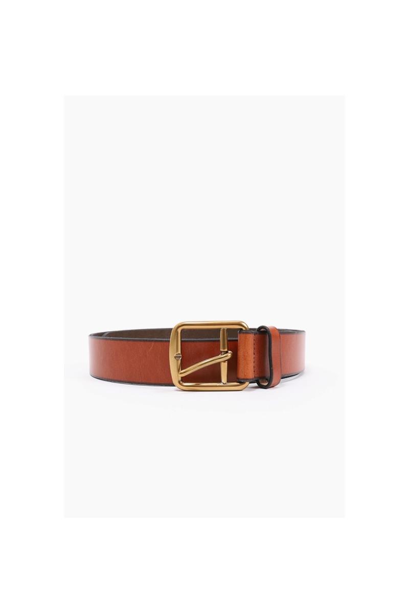 3/8 saddlr dress leather Brown