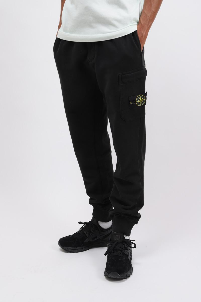 64520 fleece pants v0029 Nero