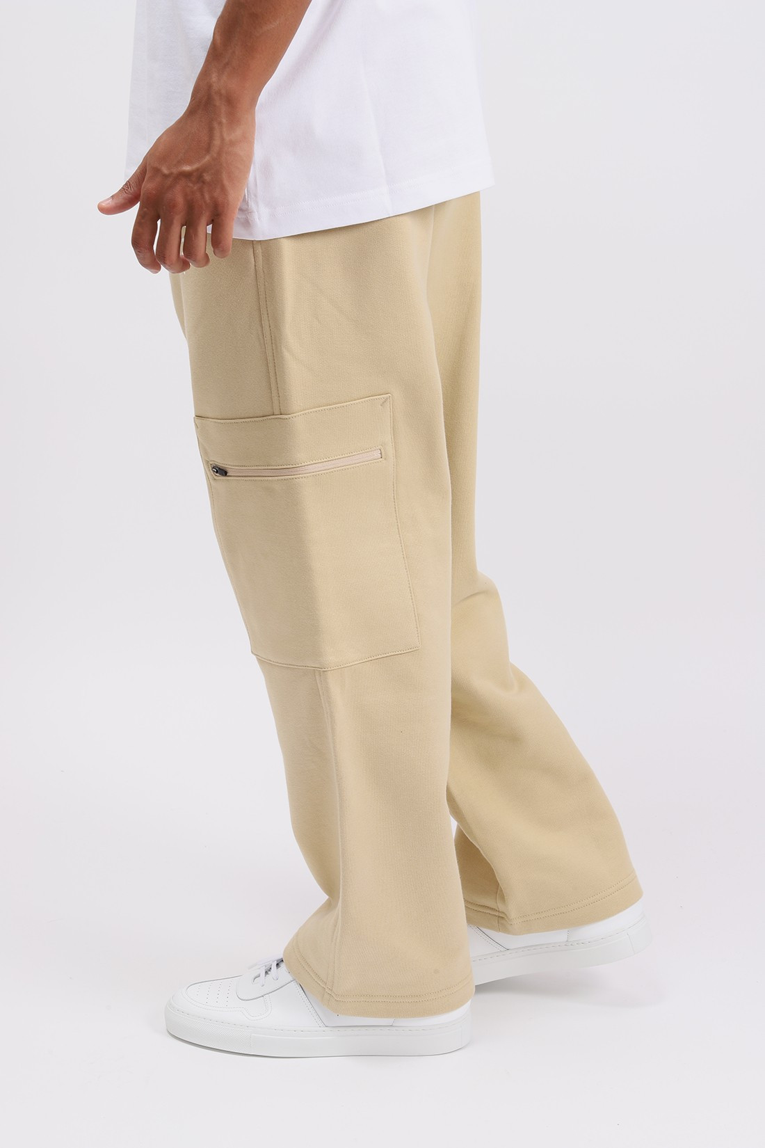 PATTA / Patta basic cargo jogging Pale kaki