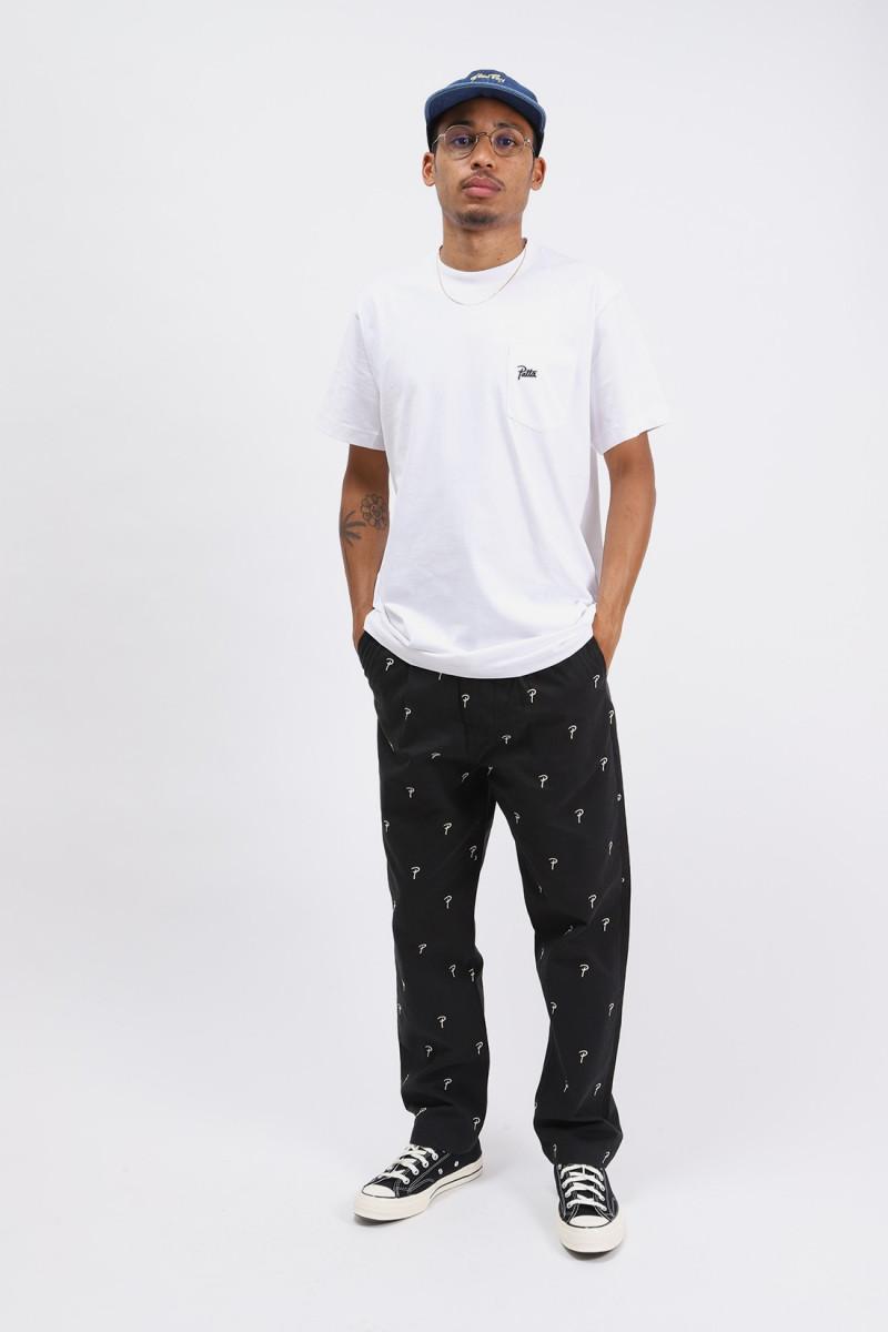 Patta basic pocket t-shirt White