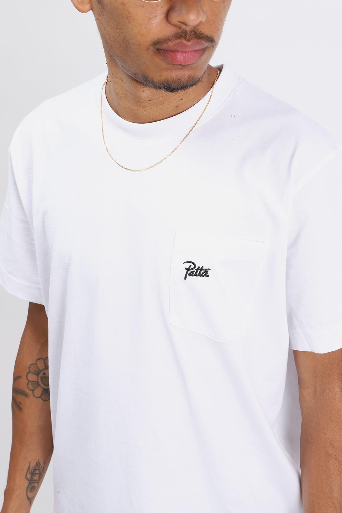 PATTA / Patta basic pocket t-shirt White