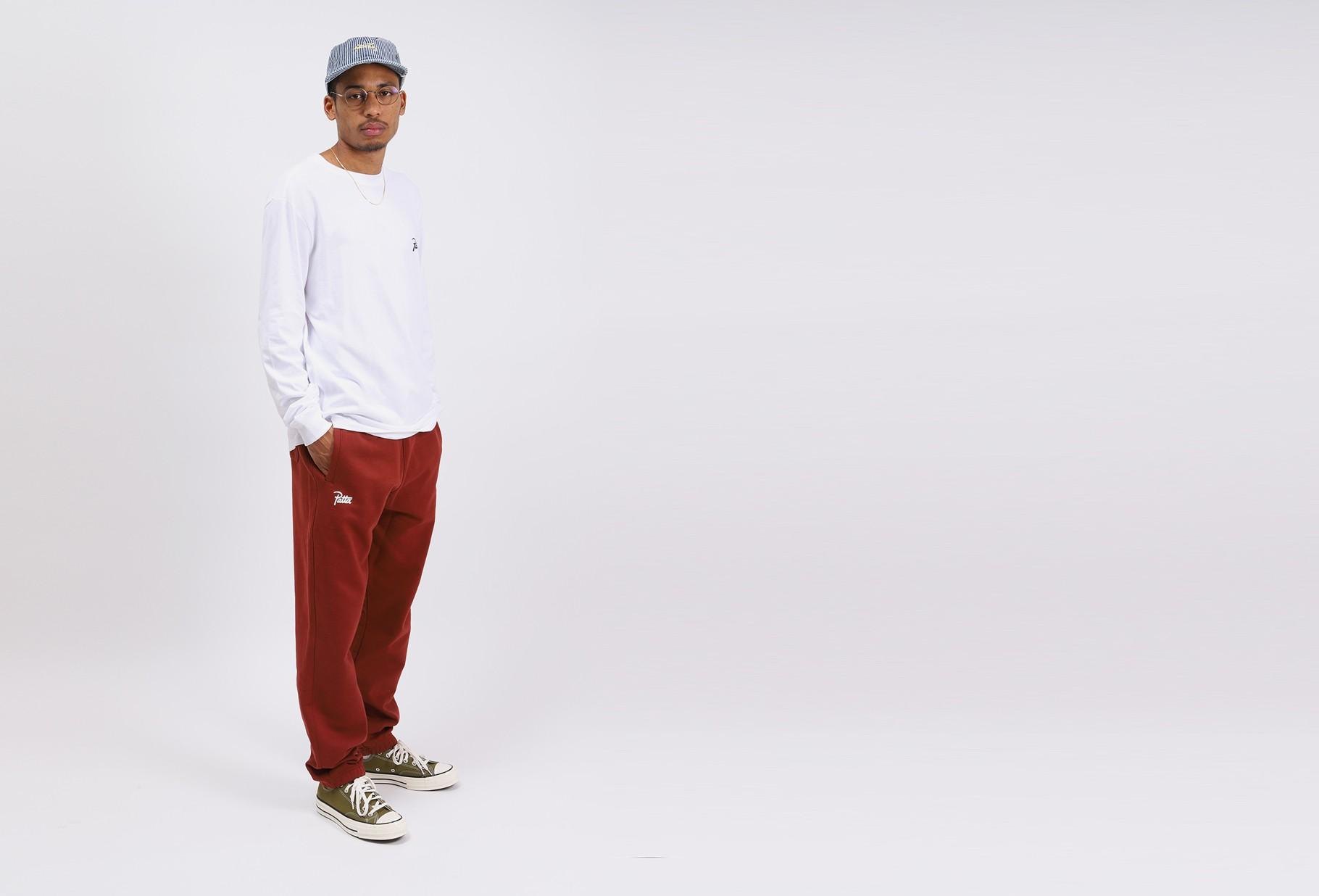 PATTA / Patta basic jogging pants Madder brown