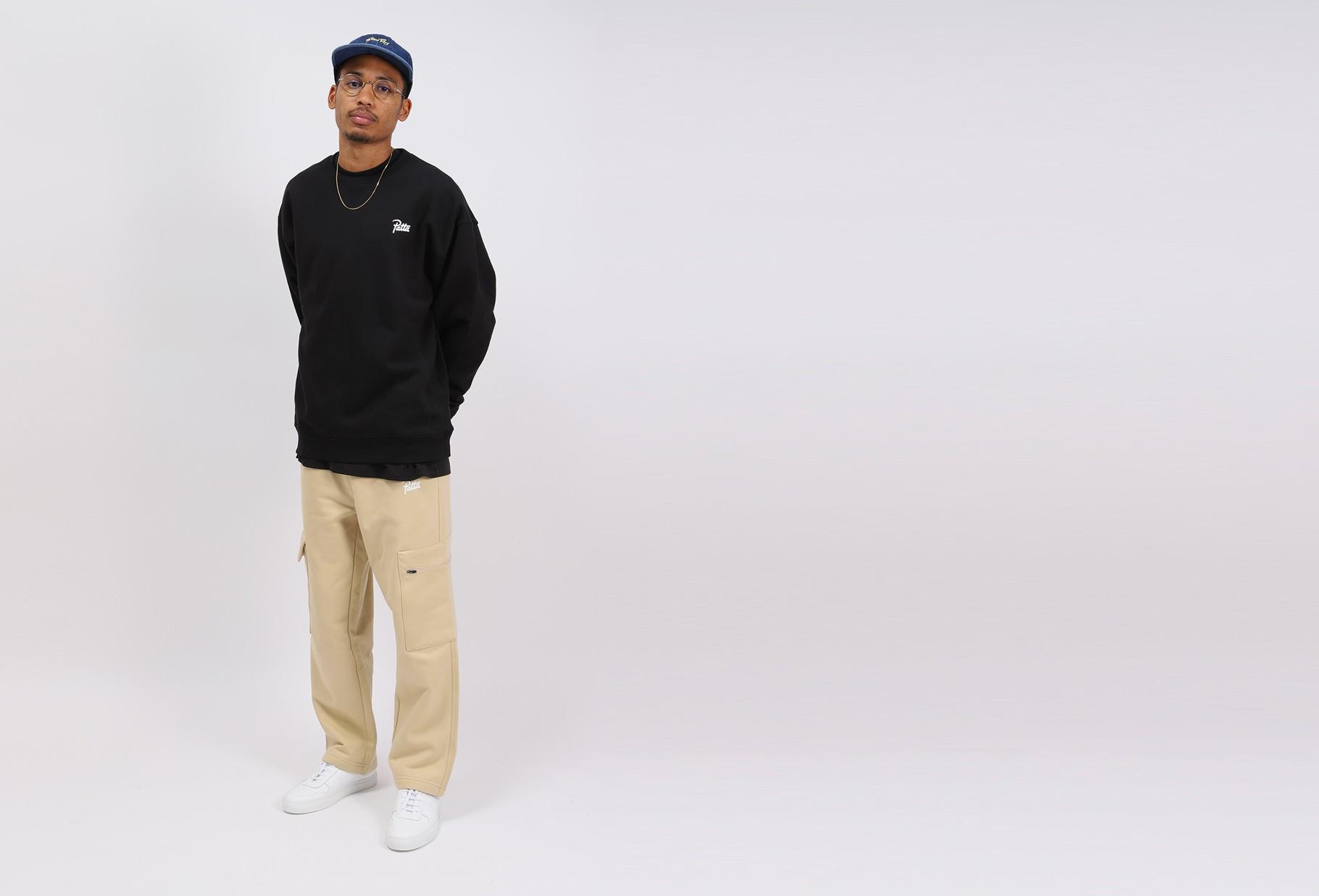 PATTA / Patta basic crewneck sweater Black