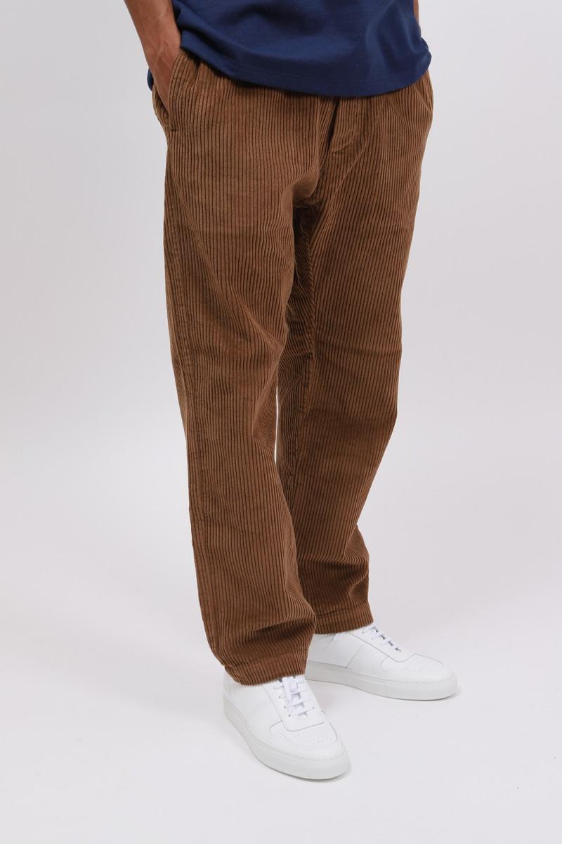 Pantalone bativoga demi Cuoio