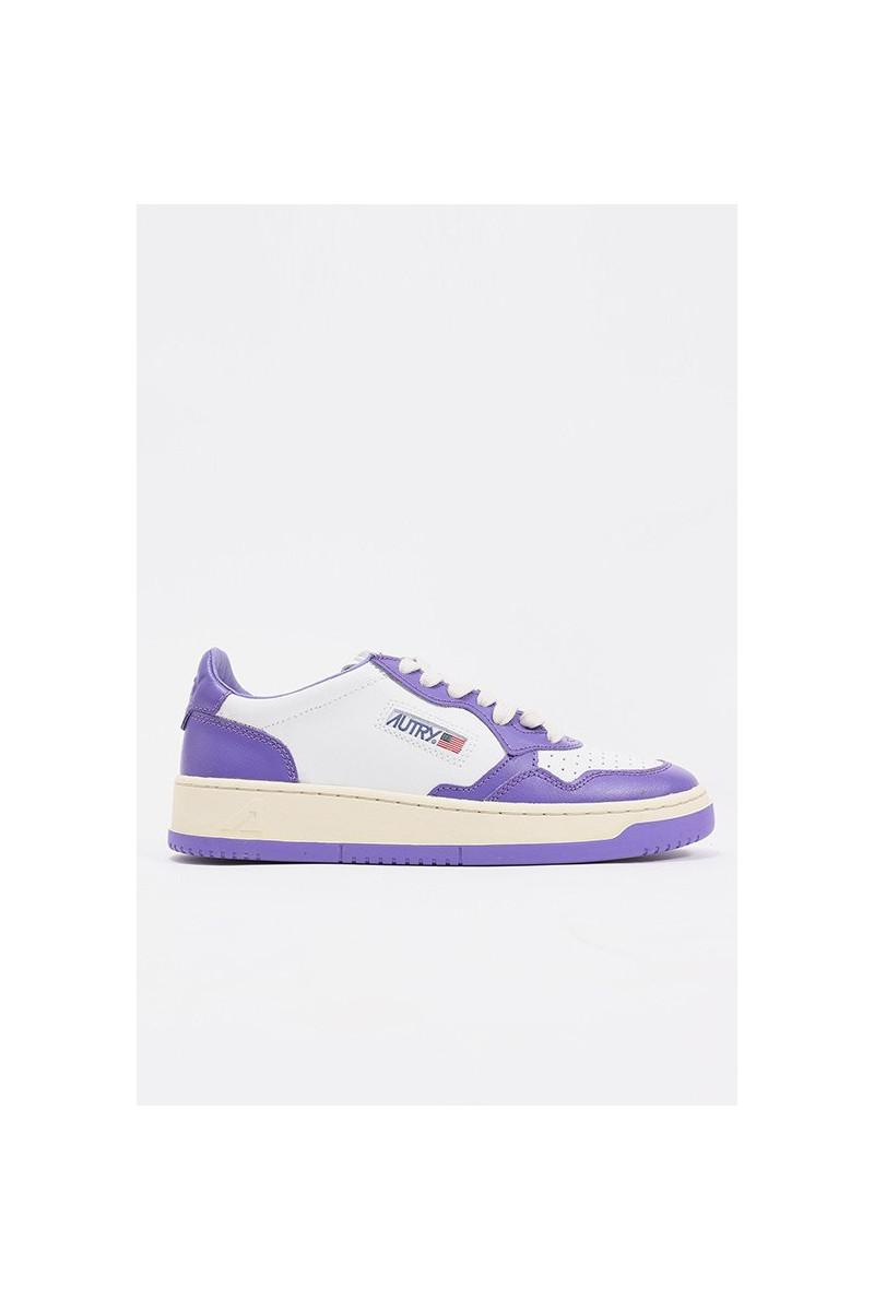 Autry White/purple