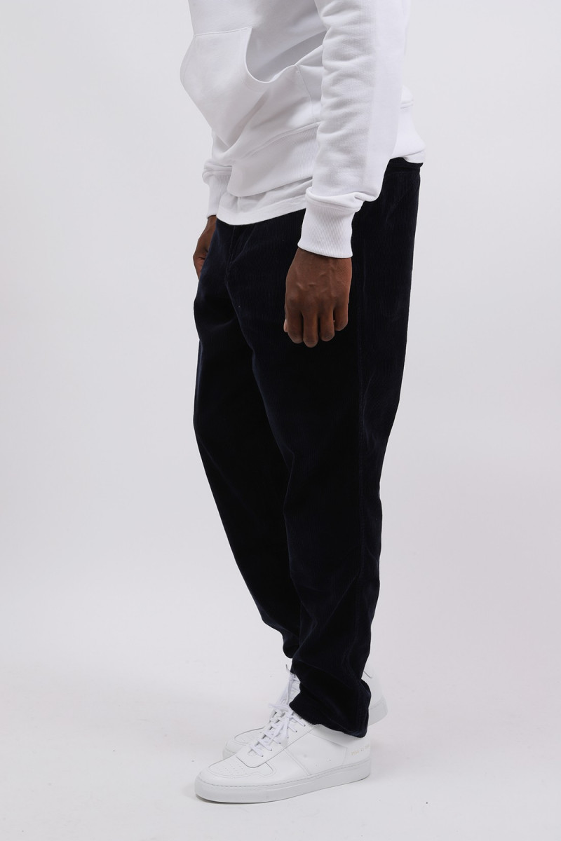 Classic fit cord prepster pant Navy