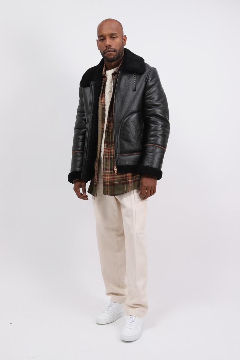 Jacket hokkaido p's shearling Black