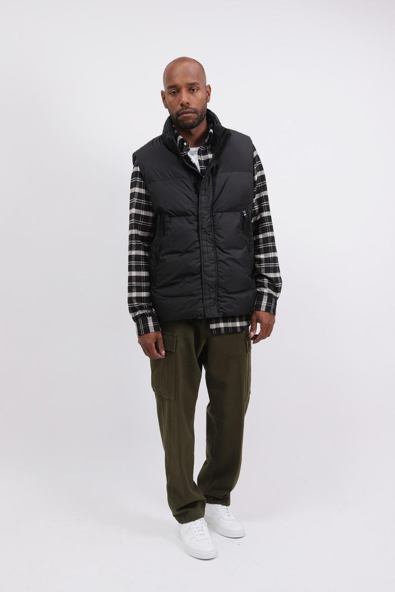 G0123 sleeveless down jacket V0029 nero