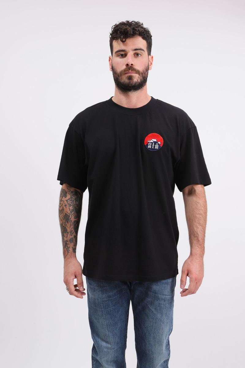 Red dawn tee shirt Black