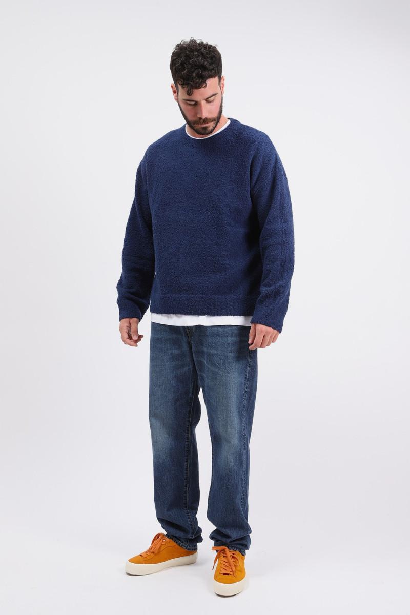 Bullit sweater knit Navy blazer