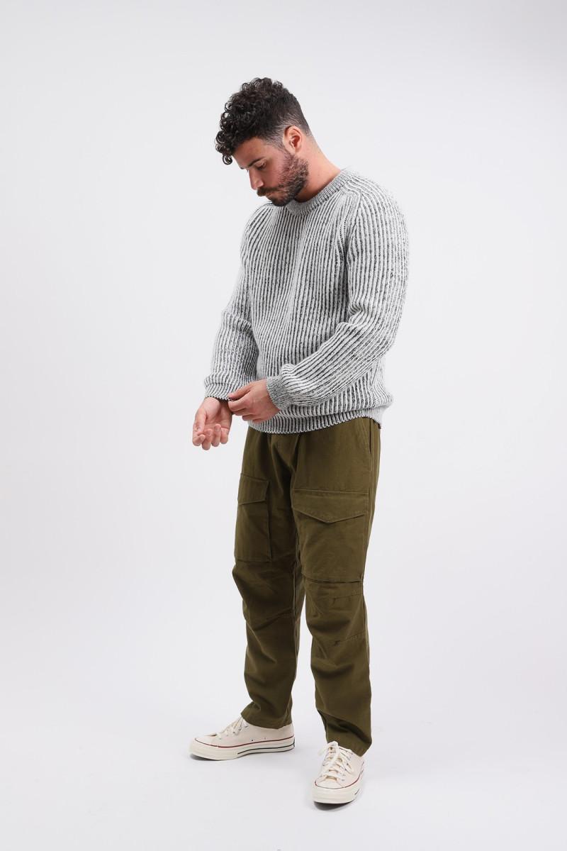 Roni crew sweater knit Off white