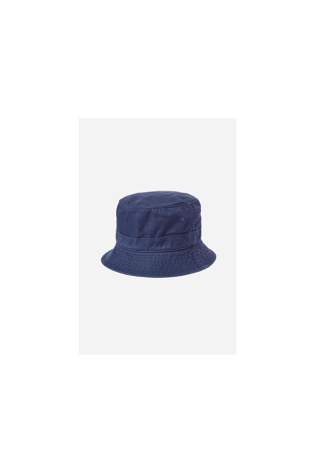 POLO RALPH LAUREN / Loft bucket hat cotton chino Blue