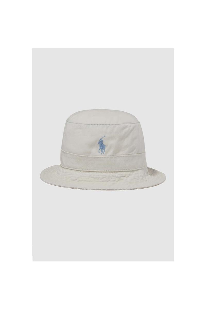 Loft bucket hat cotton chino Cream