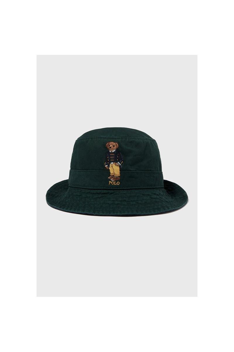Loft bucket hat polo bear Green