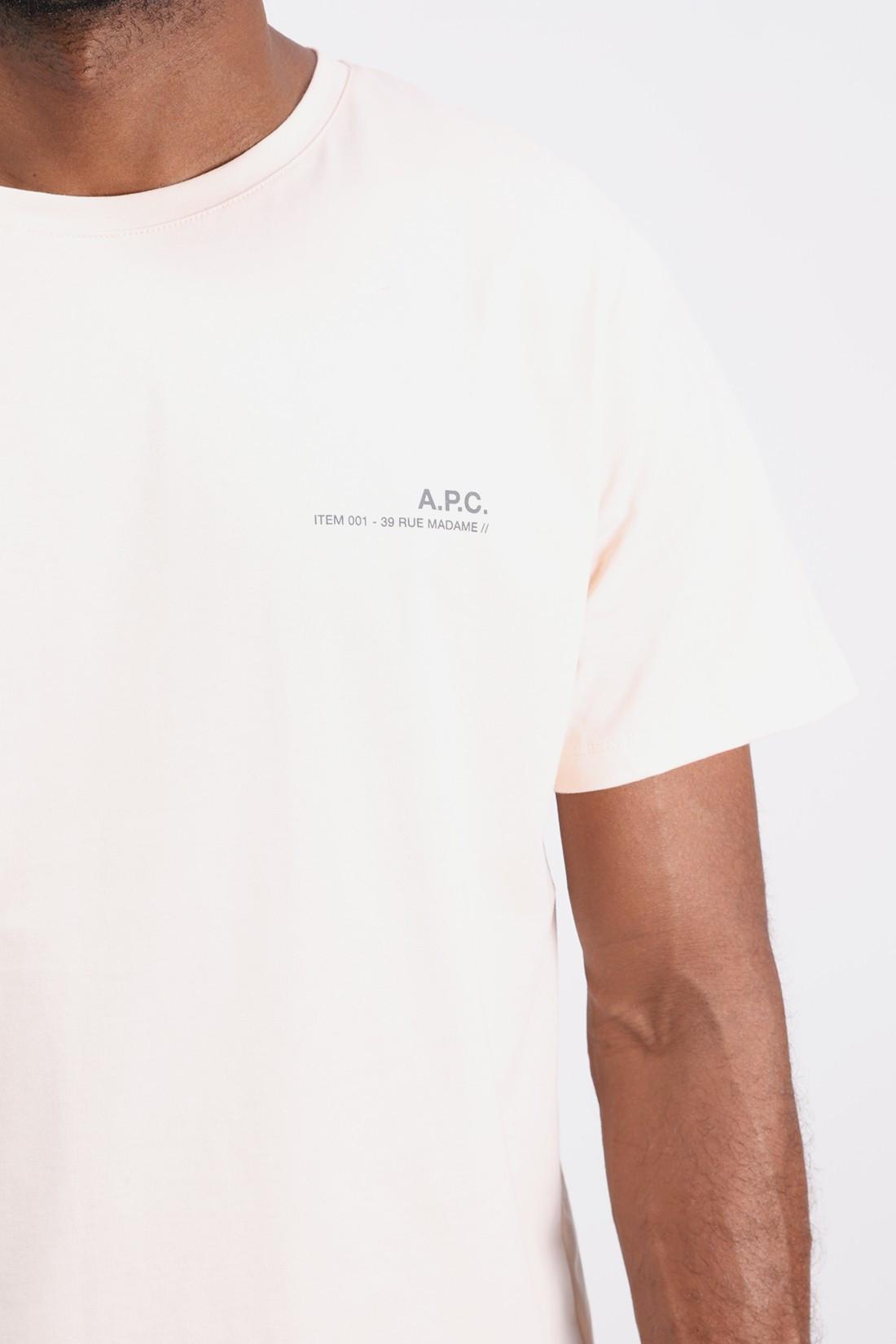 A.P.C. / T-shirt item Rose pale