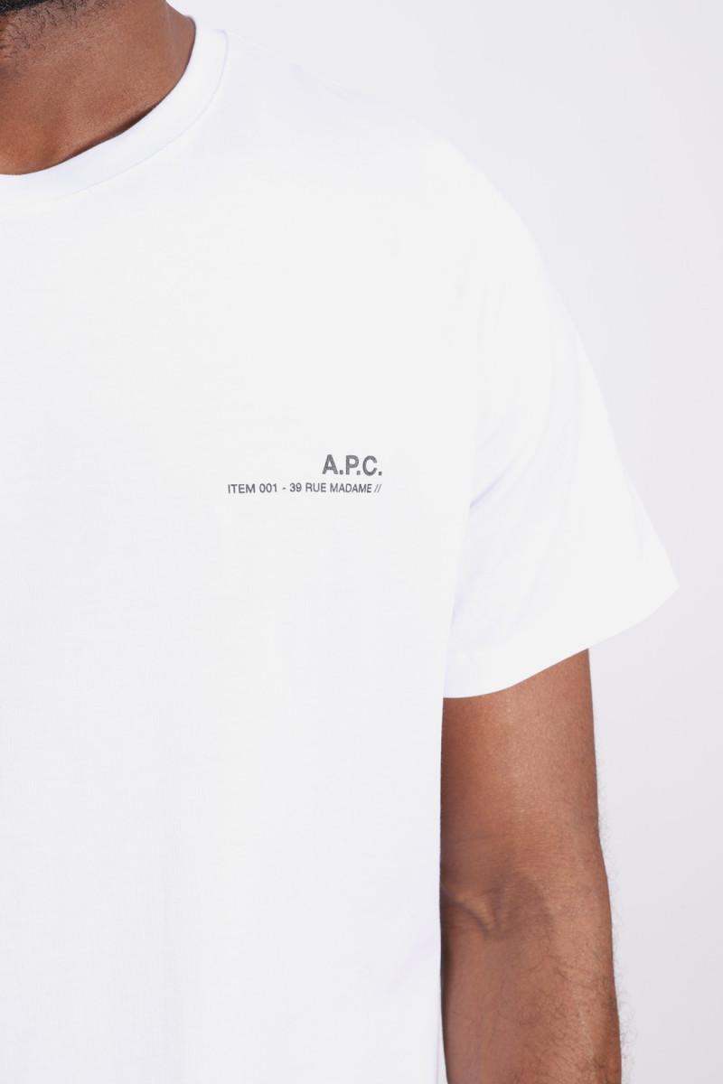 T-shirt item Blanc