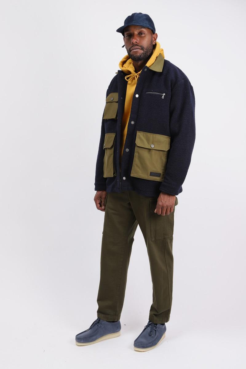 Outdoor overshirt italian Navy blazer