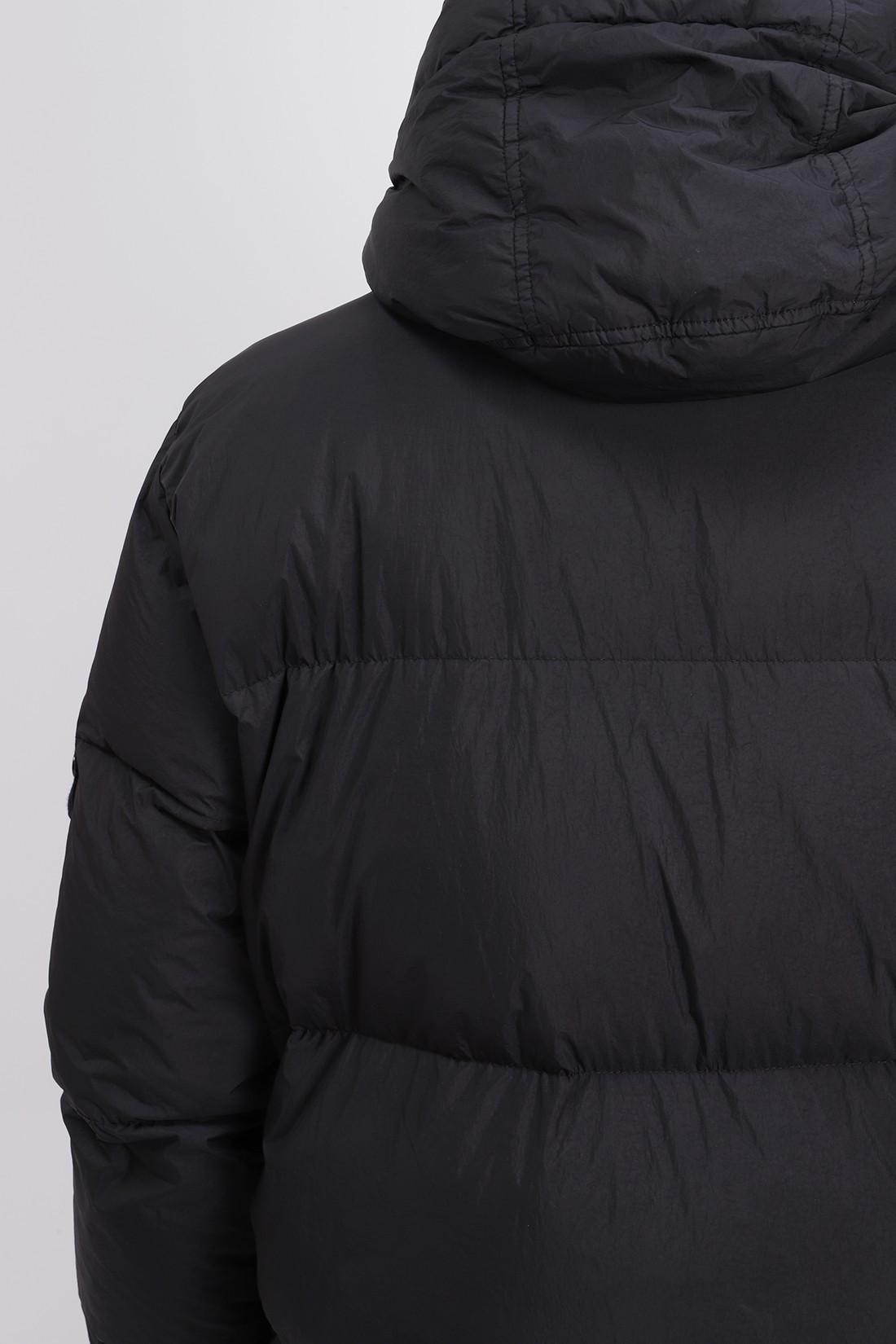 STONE ISLAND / 40123 real down jacket v0029 Nero