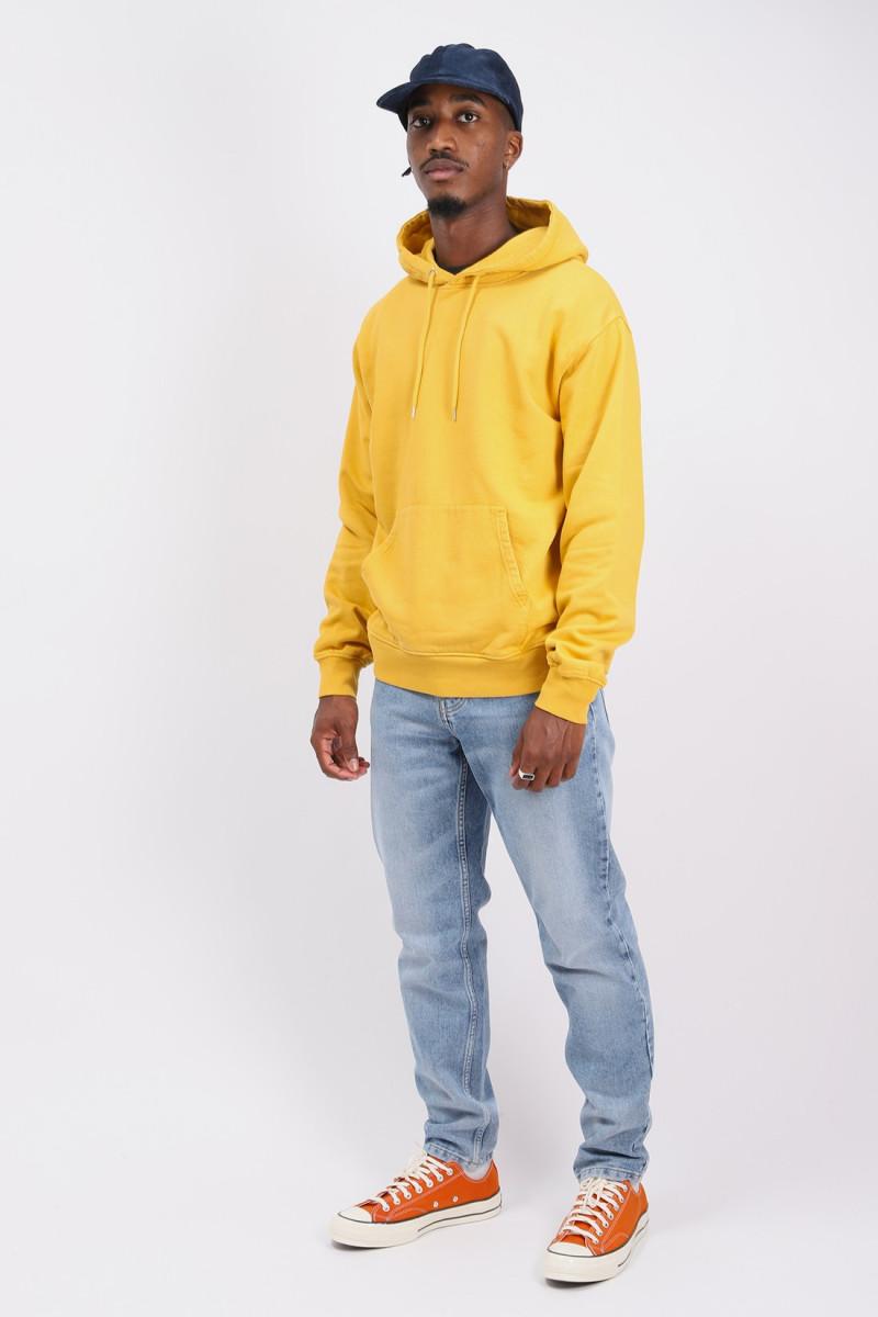 Classic organic hood Burned yellow