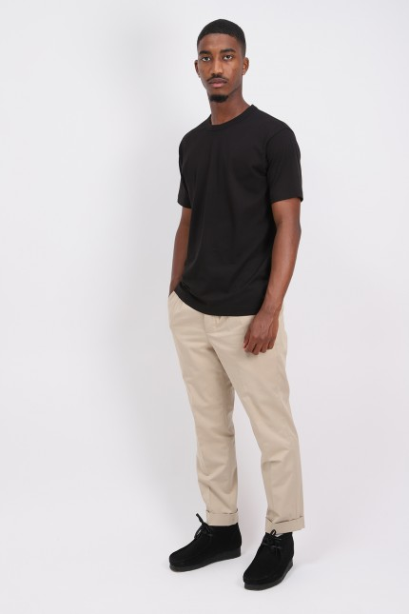 Cdg shirt logo t-shirt Black