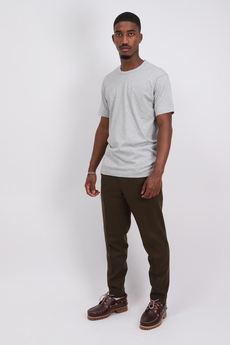 Cdg shirt logo t-shirt Grey