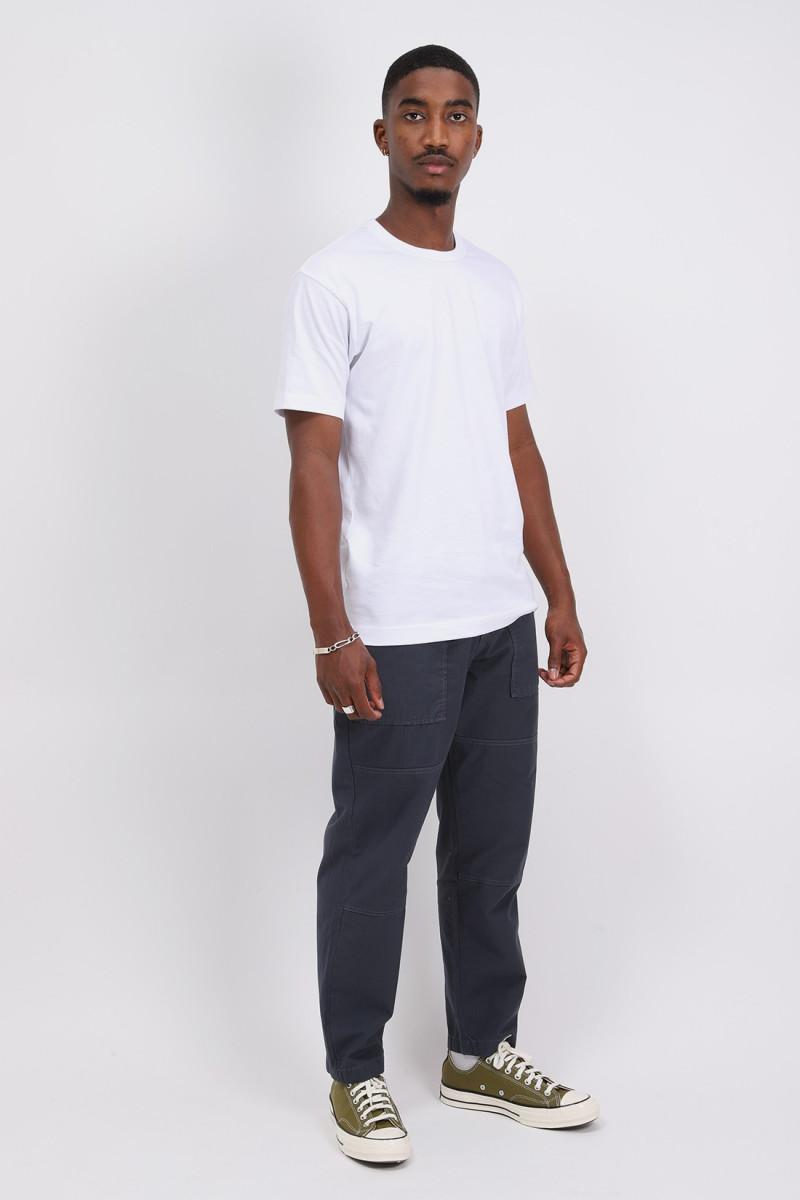 Cdg shirt logo t-shirt White