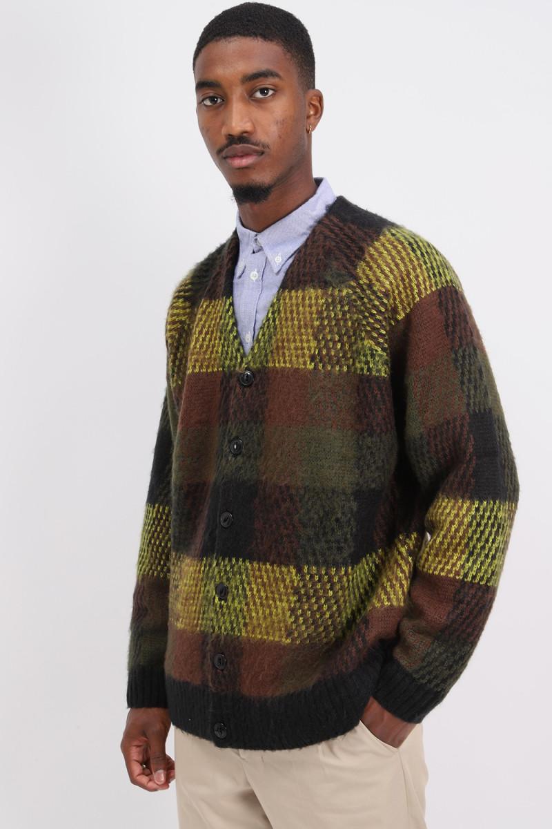 Left back knit Brown multi
