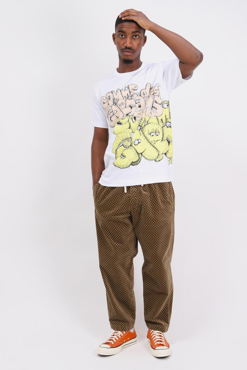 Cdg shirt x kaws t-shirt White/print 5